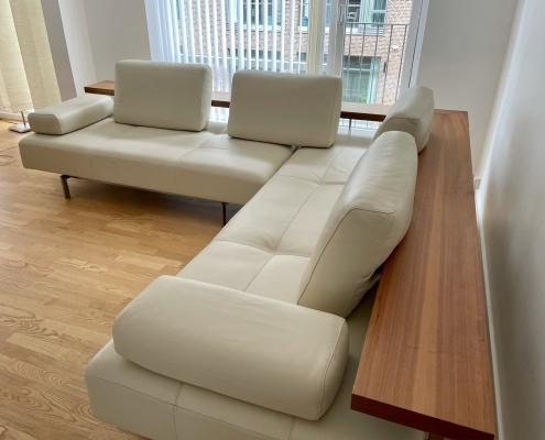 Rolf Benz læder sofa