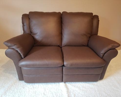 2-personers læder sofa