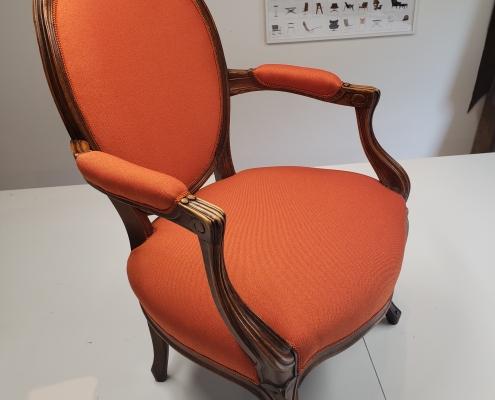 Orange kongestol